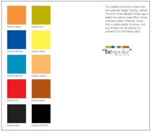 bespoke brand guidelines